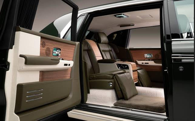 *Rolls-Royce Phantom Oribe in collaboration with Hermès interior gallery - gallery illustrations are Copyright of Pierre Peron
